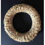 Straw wreath Ø25cm